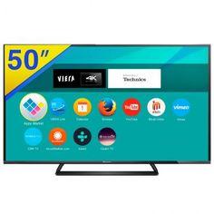 """[RicardoEletro] Smart TV LED 50"""" Panasonic Ultra HD/4K TC-50CX640B - R$ 3.135,90 10x FG"""