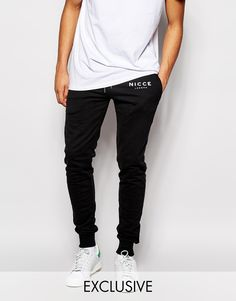 Image 1 of Nicce London Skinny Joggers