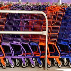 The report shows a comparison of consumer shopping behaviour in three countries.