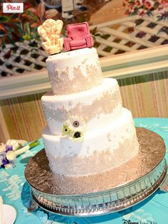Disney Pixar's Up wedding cake