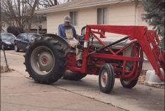 Ford Tractor Art Print 8N 2N NAA Farm Farmer market Garden boys room truck gift