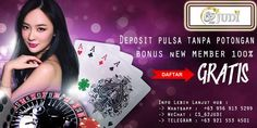 Mari bergabung dan raih kemenangan bersama kami.   Info Lebih Lanjut hub : -> Whatsapp :  +63 956 913 5299 -> WeChat : CS_62JUDI -> TELEGRAM : +63 921 553 4501  #PulsaTanpaPotongan #DepositPulsa #DepoPulsa #DepositOVO #DepoOVO #DepositGoPay #DepoGoPay #DepositDana #DepoDana #SlotPulsa #SlotOVO #SlotGoPay #SlotDana #SlotTerbaik #SlotOnline #JudiPulsa #JudiOVO #JudiGoPay #JudiDANA #62JUDI #AgenJudi #AgenJudiTerpecaya #AgenJudiOnline #AgenBola #AgenBolaTerpecaya #AgenBolaOnline Poker, The 100