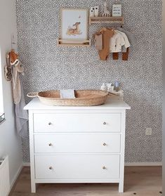 """Georgie Ludlow on Instagram: """"We just love this space. Our changing baskets make nappy changing a beautiful business. And our little shelves are perfect for displaying…"""" Nursery Neutral, Neutral Nurseries, Nappy Change, Boho Baby, Be Perfect, Baby Room, Shelves, Space, Table"""