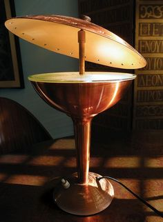 1950's Australian Lamp by Mad Modern, via Flickr