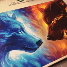"""Summer Sale!! 🔥🔥 For a limited time I will have a summer sale in my etsy shop! You can get 25% off on any purchase by using the discount code SUMMER 👍👍👊 The link to my shop is in my bio! ❤️ This one is """"Fire and Ice"""" in size A1! It looks stunning in that size! 😀 #arts_help #art #art_empire #art_spotlight #aartistic_dreamers #artsanity #artspix #artofdrawing #imaginationarts #daily_art #artfido #artcollective #artspipl #worldofartists #arts_gallery #proartists #justartspiration…"""