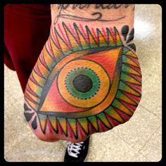 Tattoo i did last year at @welldonetattoos on @seba_forace_tattoos Thank you!!! @alohatattoosbcn