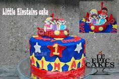 Little Einsteins fondant cake