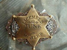 Belt Buckle... Junk Market Style