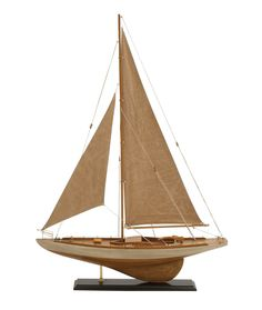 Gorgeous Miniature Sailing Model Ship