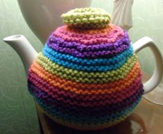 Hand knitted tea cosy cosies crochet Daffodil Bee cottage owl poppy unicorn cat   eBay Vintage Tea, Vintage Style, Knitted Tea Cosies, Unicorn Cat, Tea Cozy, Best Tea, Cozies, Hobbies And Crafts, Teapots