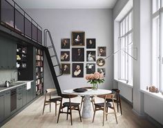 Former Classrooms Transformed Into Stunning Apartments - NordicDesign