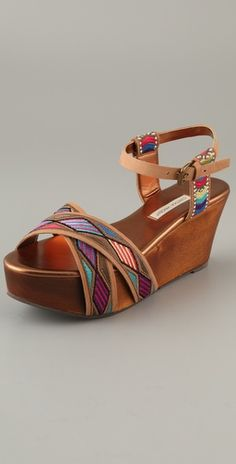 Twelfth St. by Cynthia Vincent  Dabney Embroidered Sandals