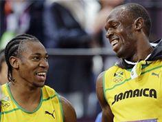 Usain Bolt & Yohan Blake