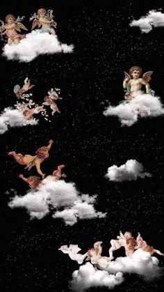 Aesthetic Wallpaper Angel - Get wallpaper HD Tumblr Wallpaper, Cartoon Wallpaper, Wallpaper Pastel, Angel Wallpaper, Trippy Wallpaper, Mood Wallpaper, Iphone Background Wallpaper, Vintage Wallpaper, Iphone Backgrounds