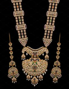 Ramnavami Necklace by Kailash Kumar on Gold Jewellery, Jewelry, Fashion Beauty, Asia, Traditional, Bridal, Jewellery Making, Bride, Gold Jewelry