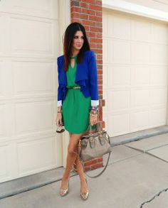 Love this color combo! #MallyTrends