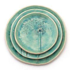 Dandelions plates