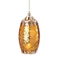 Amber Filigree Candle Lantern Wholesale at Koehler Home Decor