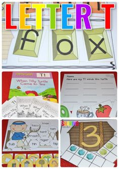 Letter T Alphabet an