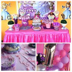 Candy bar personalizado de Princesa Sofía