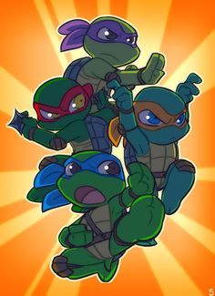 chibi ninja turtles | Source:http://www.sneefee.com/picture-galleries/tmnt/