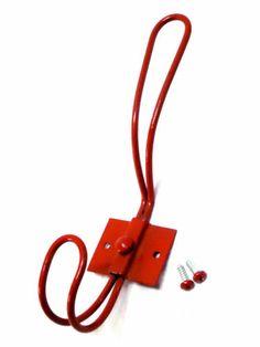 schots vintage rustic coloured wall mount metal coat hat hook red ebay