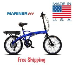 Meet the newest addition to the ProdecoTech Mariner family. The Mariner 500 combines our most compact electric bike with a powerful 48v 500 watt motor! The moto