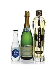 St Germain & Champagne cocktail