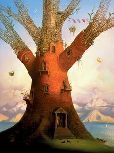 Family Tree by Vladimir Kush                                                                                                                                                                                 Más
