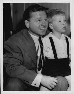Mickey Rooney And Son (1948)