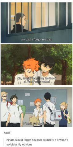 Wouldn't be surprised... although... KageHina... he wouldn't forget what's always in front of him :D <3