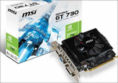 O placă video ieftină, capabilă şi performantă este placa video GeForce GT 730. Upgrade-ul la placa video nu înseamnă întotdeauna şi foarte mulţi bani , puteţi acoperi o bună parte din cerinţele jocurilor cu plăci superioare din oferte de moment, la preţ redus! MSI nVidia GeForce GT ... 128 Bit, Magazine, Magazines