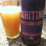 Whiting Street American Lager from Relic Brewing Co.