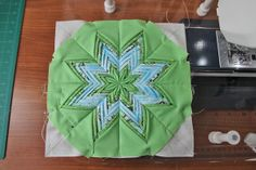 Fancy Folded Star Pot Holder « Moda Bake Shop