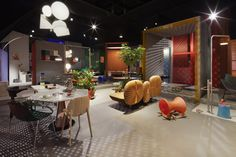 Cologne 2012: London designers Doshi Levien installed a vision of their dream home at trade fair imm cologne in Germany last week.