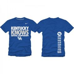 Kentucky knows national championships