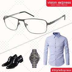 40cb321b32 It doesn t have to be Friday for you to rock this business casual look with  these metallic spectacle frames. Model   VX GV IN STYLE