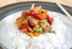 Fotorecept: Bravčové na mede po čínsky Pos, Grains, Rice, Lunch, Dinner, Dining, Eat Lunch, Food Dinners, Seeds