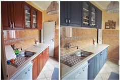 Előtte-utána: tippek konyhabútor fejújításához | A napfény illata Diy And Crafts, Kitchen Cabinets, Home And Garden, House, Creative, Home Decor, Decoration Home, Home, Room Decor