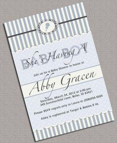 Printable Baby Shower Invitations Boys