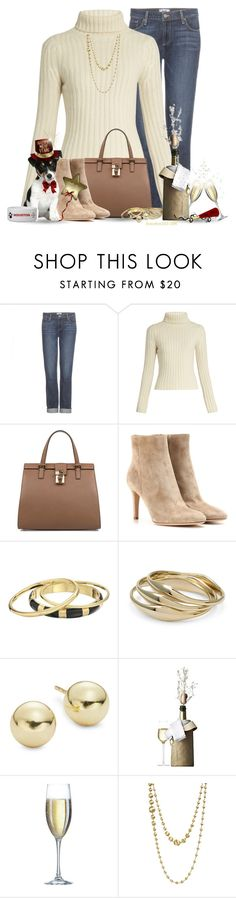 """""""Wishing everyone a Safe and Happy New Year's!"""" by houston555-396 ❤ liked on Polyvore featuring Paige Denim, Ryan Roche, Dolce&Gabbana, Gianvito Rossi, Karen Kane, Chico's, Lord & Taylor, Menu, Threshold and Marco Bicego"""