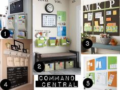 Is your family organized for fall?! Inspiration... (now if I could just magically expand my mudroom...)