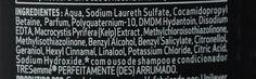 Ingredientes da fórmula do shampoo TRESemmé Perfeitamente (Des)Arrumado