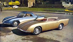 Abarth 750 Coupe + Roadster Bertone 1956