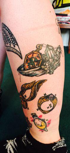 Slytherin locket, horcrux, marvolo gaunt, felix Felicis