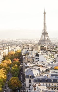 "where to see sunset in paris, France (the very best spots)"" Arc de Triomphe"