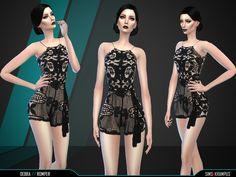 Debra Romper by SIms4Krampus at TSR via Sims 4 Updates