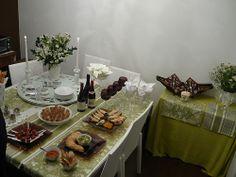 Jantar em casa para amigos