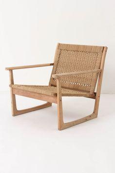 cordage armchair // anthro