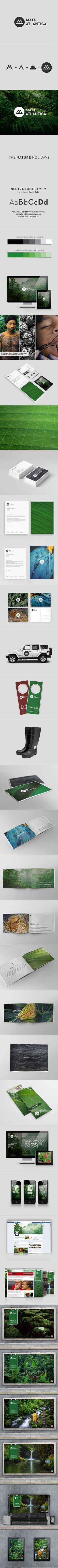 Did you see those vibrant business cards? We love Mata Atlântica's entire branding look! #branding #logo もっと見る